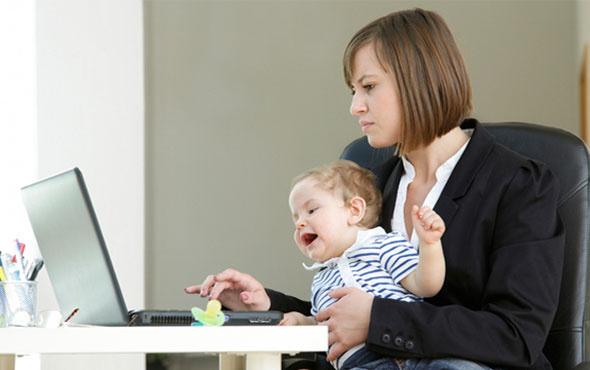 Çalışan anneye kreş parası geliyor
