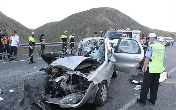 Erzincan'da katliam gibi kaza! Başbakan Yıldırım da oradaydı!