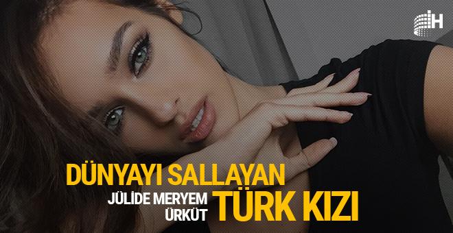Dünyayı sallayan Türk kızı: Juli Mery