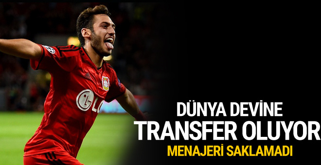 Hakan Çalhanoğlu Milan'a transfer oluyor
