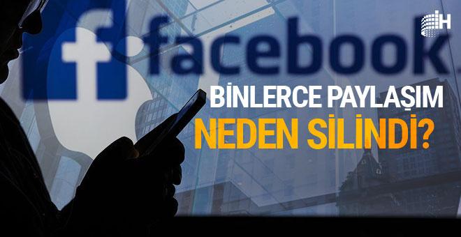 Facebook 66 bin paylaşımı neden sildi?