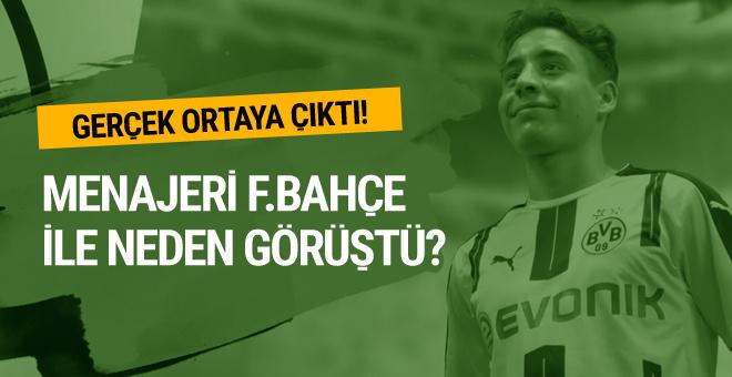 Emre Mor'un menajeri neden Fenerbahçe kulüp binasına geldi?