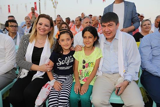 Başkan Türel Finike Festivali'nde