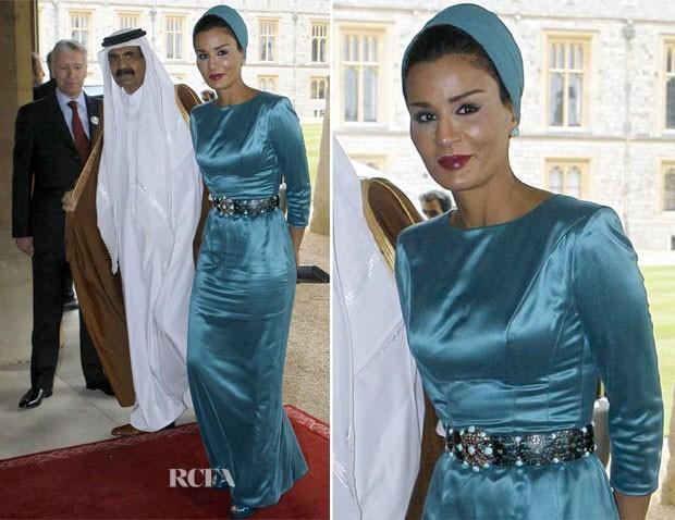Dünya onları konuşuyor Katar Emiri'nin eşi Sheikha Moza kimdir