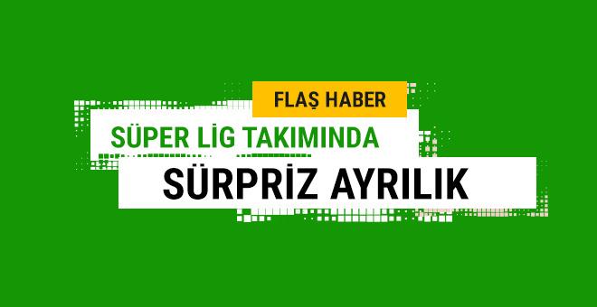 Süper Lig takımında sürpriz ayrılık
