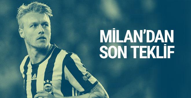 Milan'ın Kjaer için son teklifi yaptı