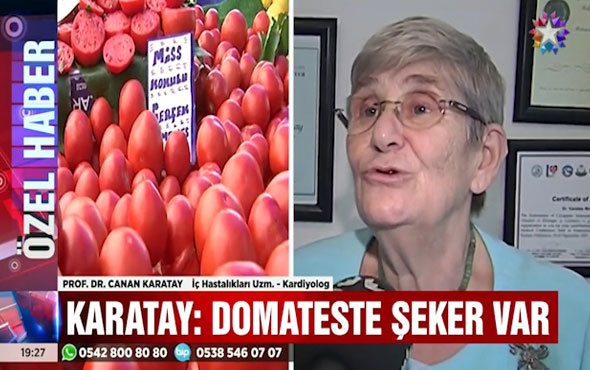 Canan Karatay'dan domates uyarısı