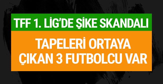 TFF 1. Lig'de şike skandalı