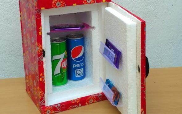 Mini buzdolabı nasıl yapılır?