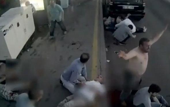 15 Temmuz'un en dehşet videosu! Köprüde tank ateş açıyor