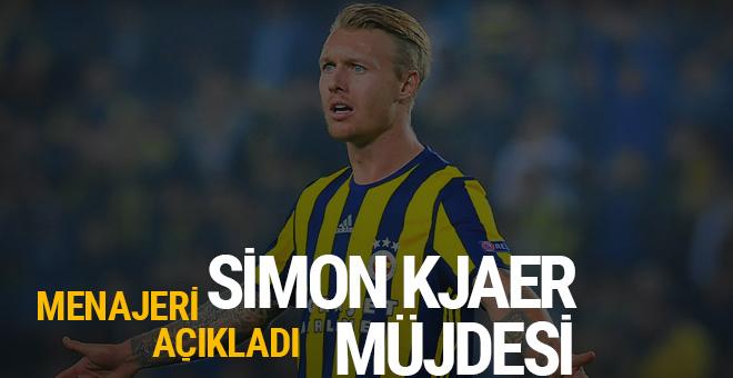 Fenerbahçe'ye Simon Kjaer müjdesi