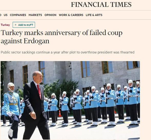 Dünya medyası 15 Temmuz törenlerini böyle gördü!