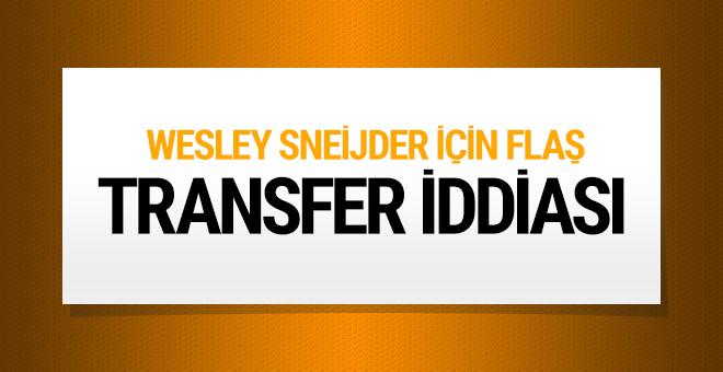 Sneijder için flaş transfer iddiası