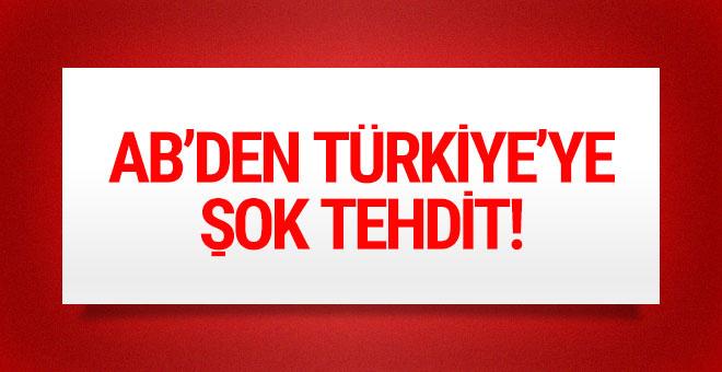 Avrupa Komisyonu Başkanından Türkiye'ye tehdit!
