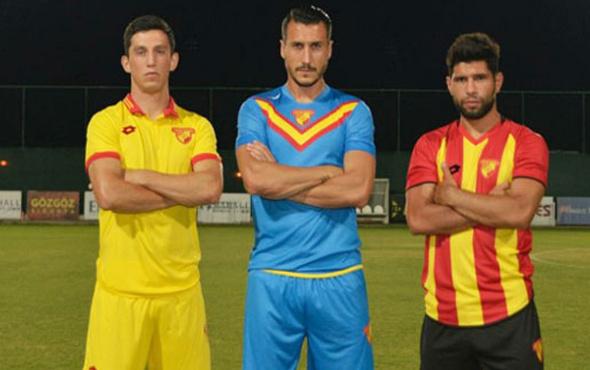 Göztepe'nin yeni sezon formaları tanıtıldı
