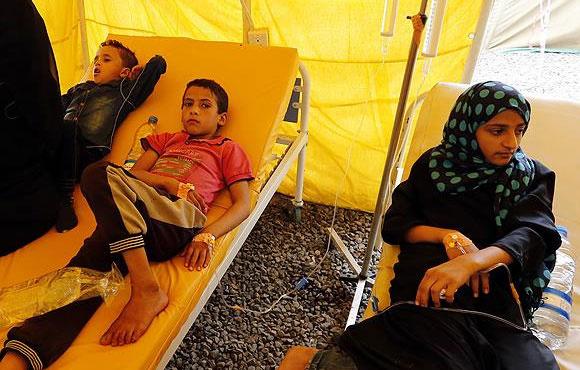 Kolera salgını 3 ayda bin 784 can aldı