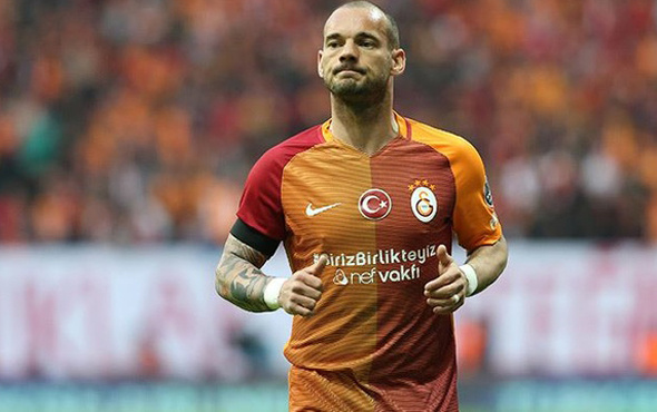 Sneijder'den o isme özel teşekkür