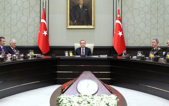 Erdoğan 'MGK'da ele alınacak demişti' kritik toplantı başladı