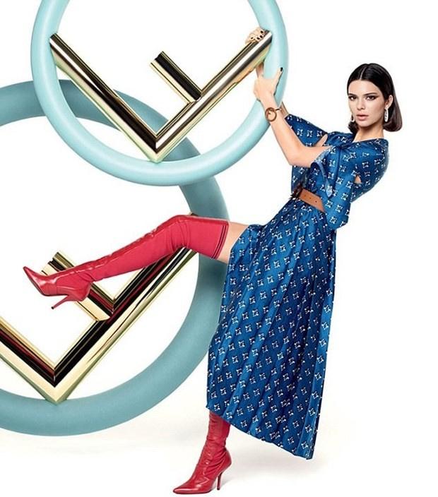 Kendall Jenner Fendi Sonbahar 2019 2019 Reklam Kampanyası 87