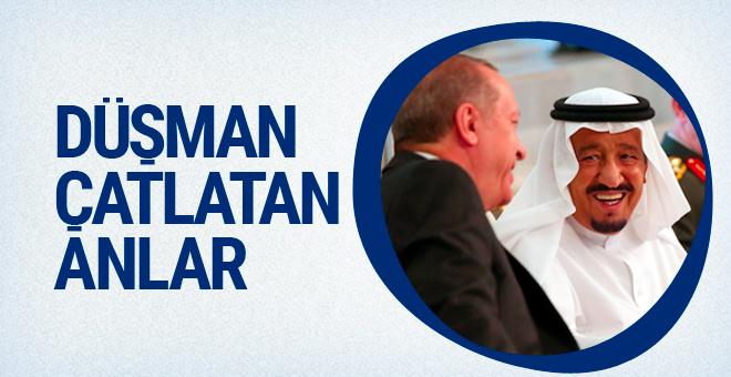Kral Selman ile Erdoğan'ın fotoğrafları dünyayı kıskandıracak