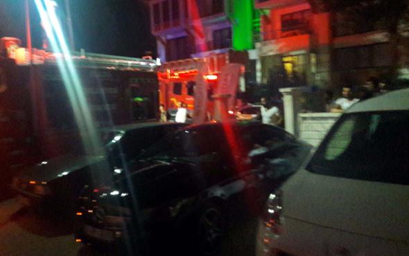 Elektrik panosu yandı davetliler hastanelik oldu