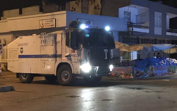 Adana'da kavgaya TOMA'lı müdehale
