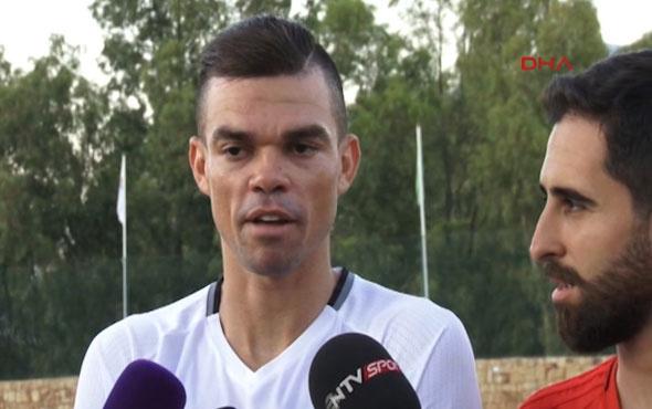 Pepe: Burada olmak benim için bir şans