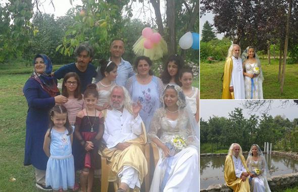 Hasan Mezarcı düğünü olay! Kendini İsa sanıyor karısı da...