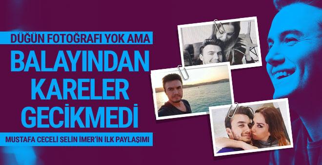 Mustafa Ceceli Selin İmer ilk balayı fotoğrafları paylaştı!
