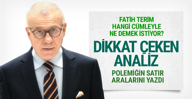 Fatih Terim-Rüştü Reçber krizine Ertuğrul Özkok'ten yorum