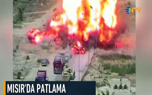 Mısır'da bomba yüklü araç patladı: 7 ölü
