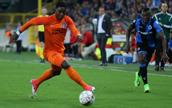 Club Brugge Başakşehir maçından kareler