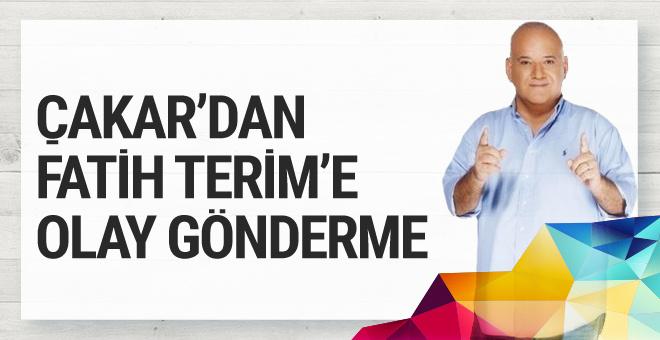 Ahmet Çakar'dan olay Fatih Terim tweeti
