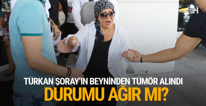 Türkan Şoray'ın beyninden tümör alındı! Son durumu ne?