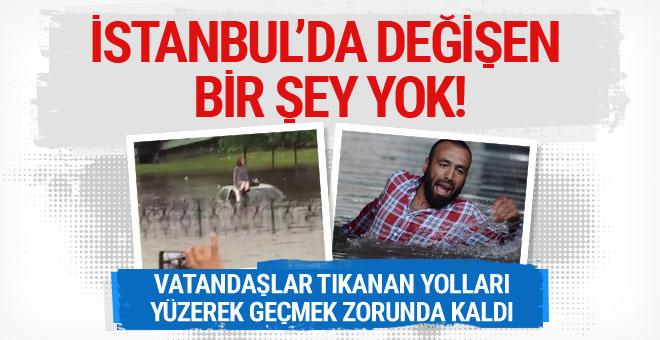 İstanbul'da 10 gün sonra aynı yerde değişen bir şey yok