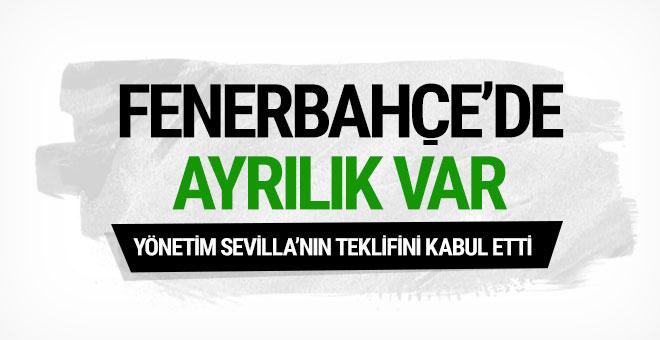 Fenerbahçe Sevilla'nın teklifini kabul etti