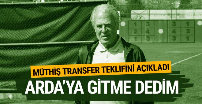 Mustafa Denizli'den Arda Turan yorumu