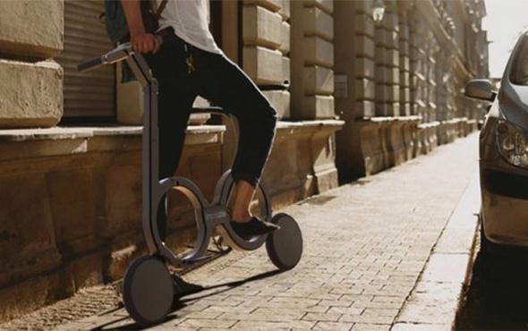 Dünyanın katlanabilir en küçük bisikleti