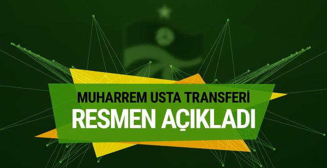 Muharrem Usta transferi resmen açıkladı