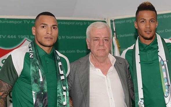 Bursaspor'dan transferde çifte imza