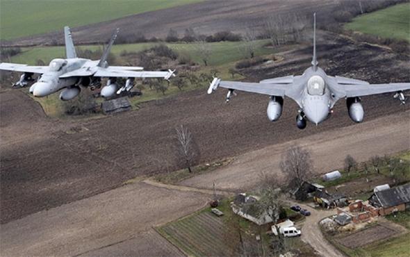 Tehlikeli gerginlik: NATO jetleri, Rus uçaklarını durdurdu!