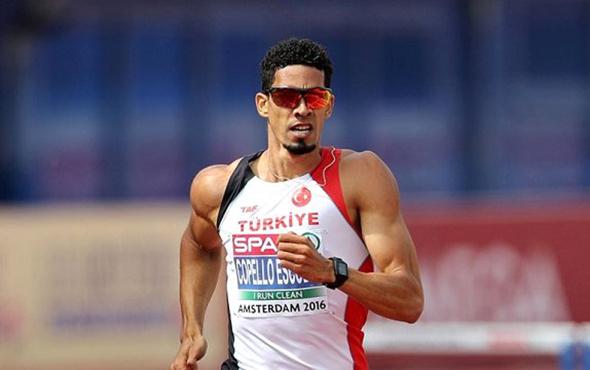Milli atlet Yasmani Copello Escobar dünya ikincisi