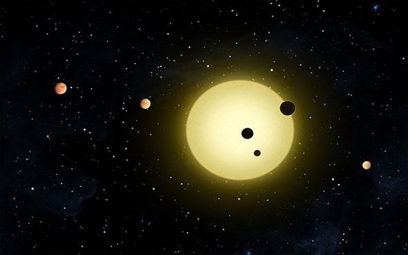 12 ışık yılı uzaklıktan yaşamın ayak sesleri