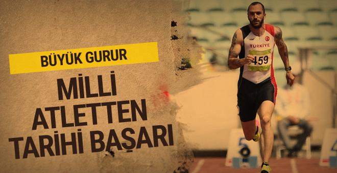 Milli atlet Ramil Guliyev dünya şampiyonu oldu!