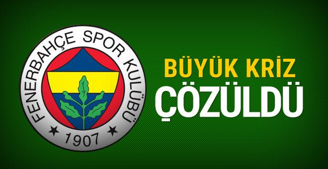 Fenerbahçe'de orta saha krizi çözüldü