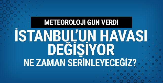 Meteoroloji gün verdi İstanbul'un havası değişecek