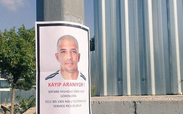 Sofiane Feghouli için kayıp ilanı verildi