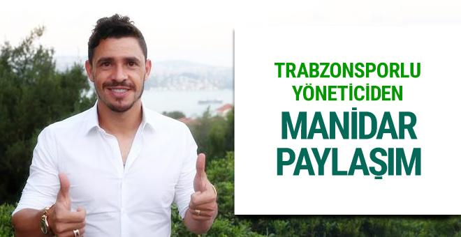 Trabzonsporlu yöneticiden flaş Giuliano paylaşımı