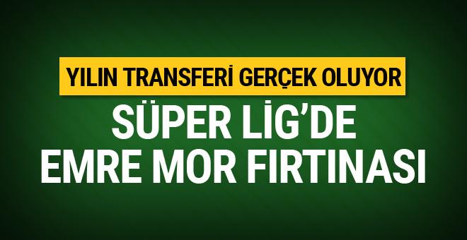 Galatasaray'dan Emre Mor'a sürpriz teklif