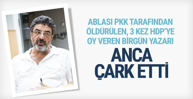 HDP'ye 3 kez oy veren Birgün yazarı sonunda çark etti